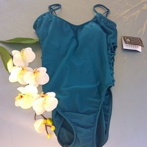 Shape FX swimsuit with side caging